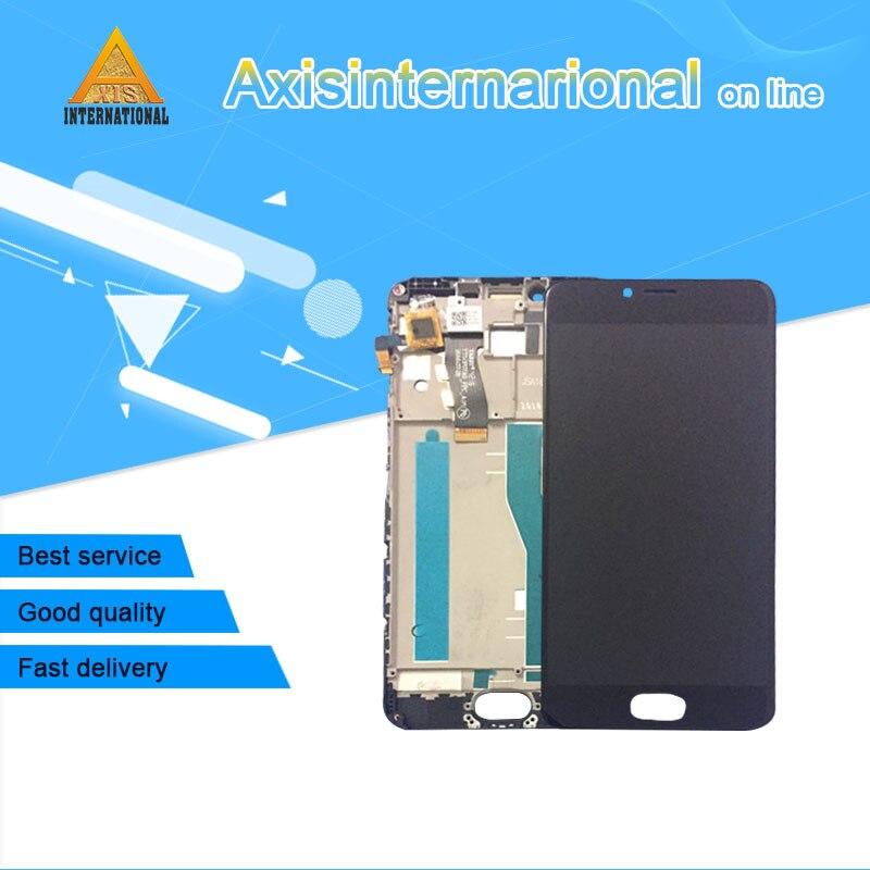 "5,2 ""Original axiinternacional para Meizu M5 Mini M611A M611Y M611 pantalla LCD + MARCO DE Digitalizador de Panel táctil para Meizu M5"