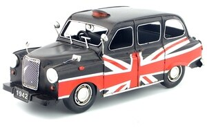 Antique classical austin TAXI  model retro vintage wrought  metal crafts for home/pub/cafe decoration or birthday gift