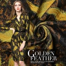 145cm width Imported European style Metallic Jacquard Brocade Fabric,3D jacquard yarn dyed fabric fo