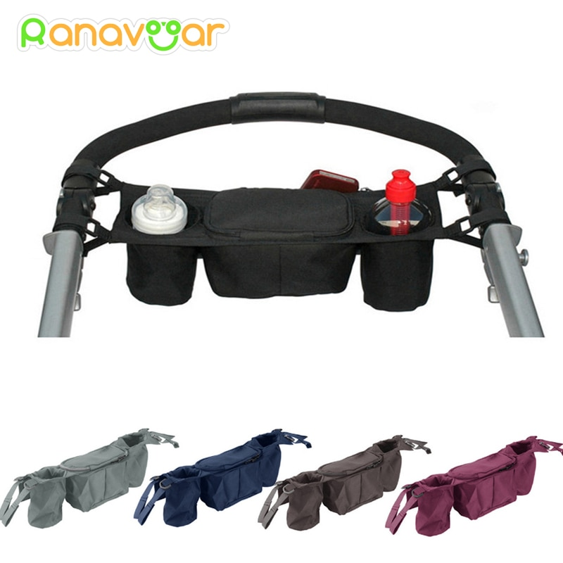 Baby Stroller Organizer Baby Prams Carriage Bottle Cup Holder Bag for Pram Buggy Baby Stroller Acces