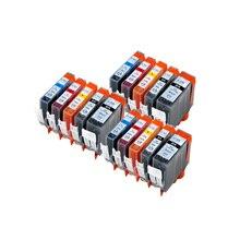 BLOOM IGP 520 CLI 521 compatible cartouche dencre pour canon PIXMA IP3600 IP4600 IP4700 MX860 MX870 MP540 MP550 MP560 Imprimante