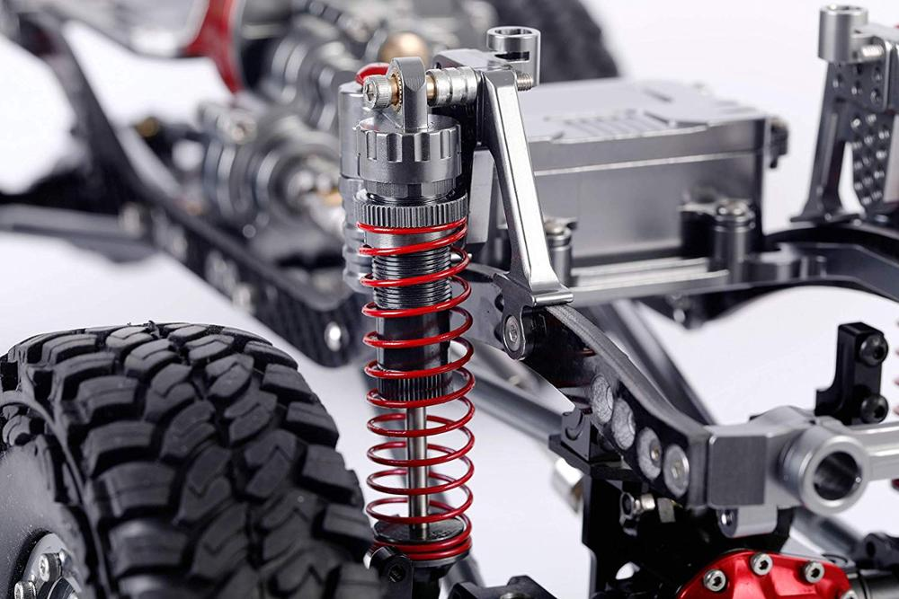 Rc 1/10 Car Shock Absorber 100mm Trx-4 Scx10 Tamiya Axial Crawler Accessories Upgrade Spare  Mal Parts Gear Shockmounts For Cars enlarge