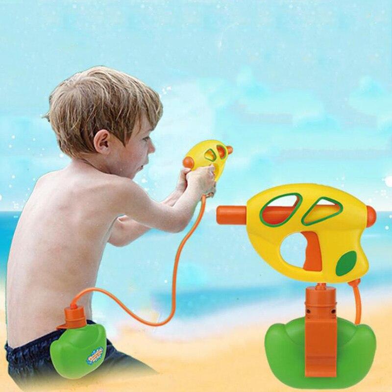 Juguetes para niños, pistola de agua a presión, pistola de agua portátil para el aire libre de verano