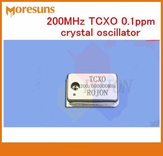 Envío Gratis 5 uds 200MHz TCXO 0.1ppm alta precisión compensación de temperatura oscilador de cristal