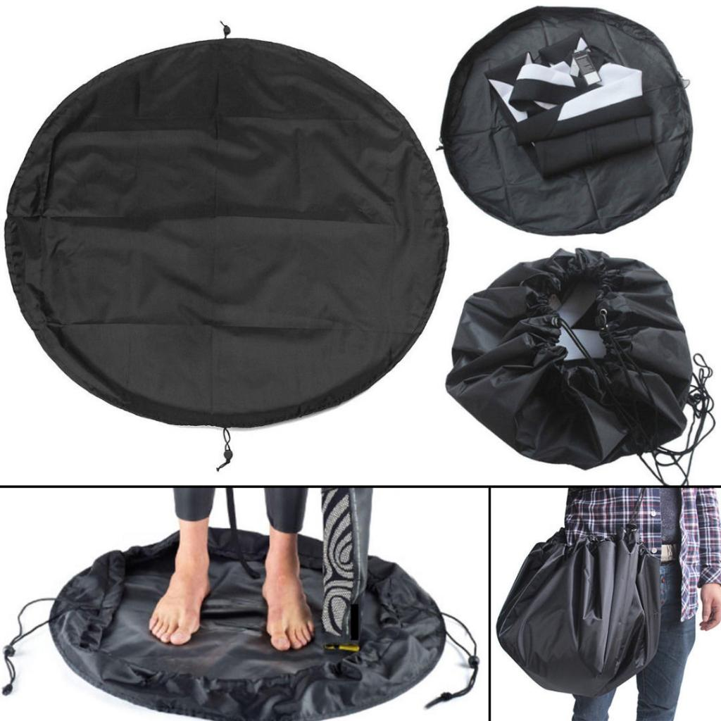 AliExpress - Universal Sand/ Mud Proof Kayak Wetsuit Bag & Changing Mat Waterproof Dry Bag Surf Wetsuit Change Pad Surfing Accessories Black