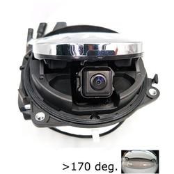 1000l mccd 1280*960p para volkswagen golf 6 7 besouro b6 b8 lamando distintivo inteligente flip vista traseira tronco alça câmera rgb cvbs 180de