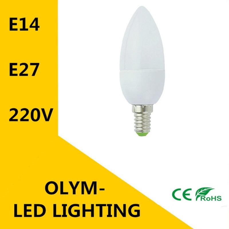 Bombilla Led E14 E27 para ahorro de energía, foco blanco cálido/frío, lámpara...