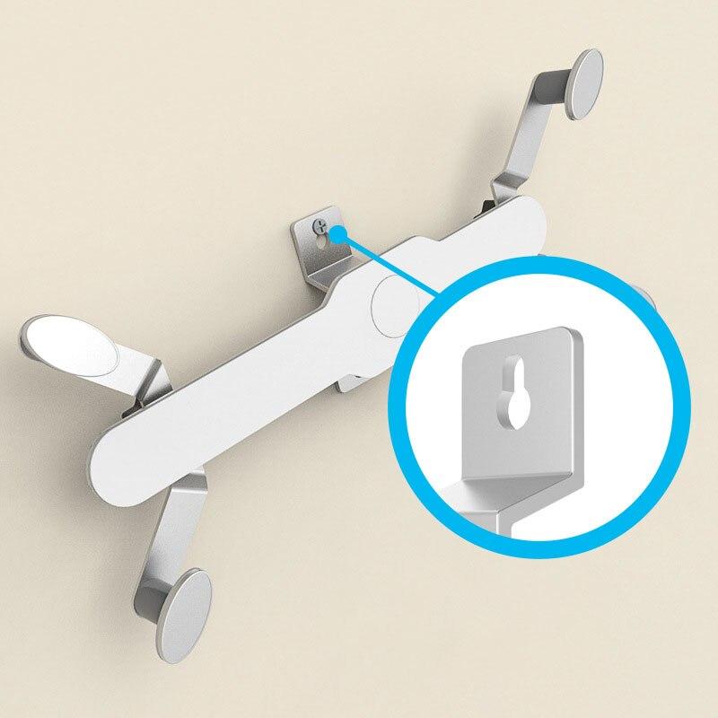Универсальный настенный держатель для планшета 7,9-12 дюймов, подставка из алюминиевого сплава, вращающийся на 360 градусов кронштейн для iPad 2 Air 1 Huawei