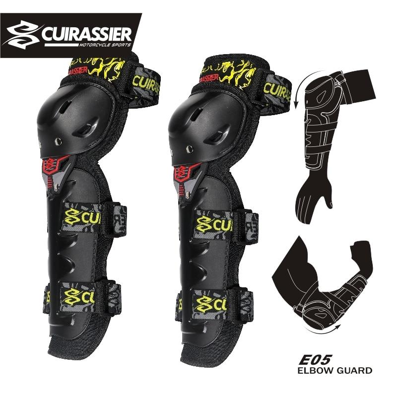 Motorcycle kneepad Cuirassier Protector Motocross Racing Guard Knee Pads Protective Elbow Off-Road Motorbike Protection Brace enlarge