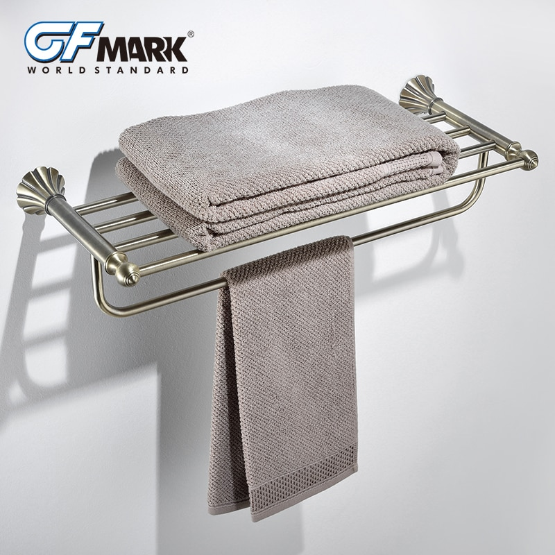 GFmark antiguo estante de toalla perchas de cobre Base Hardware Bad accesorios...
