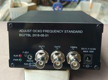 2018 New verison 10MHz OCXO Crystal Oscillator OCXO FREQUENCY STANDARD ADJUSTABLE 10K-180M