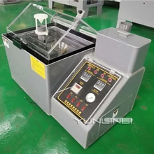 Küçük Tuz Püskürtme Test Makinesi 220V 1500W Nötr Tuz Püskürtme Test Kutu Kaplama Korozyon Direnci Test Cihazları LX-40B