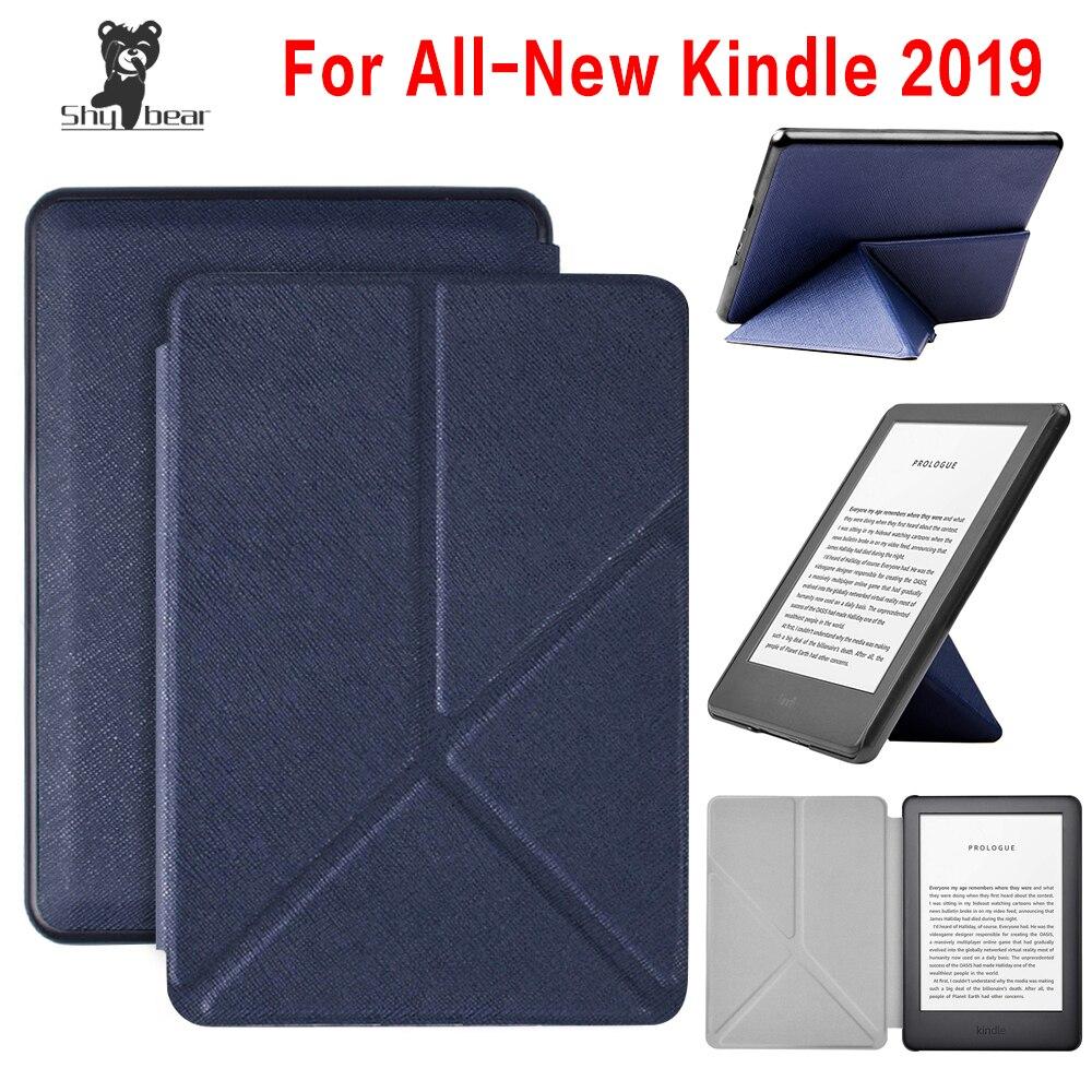Чехол оригами для Amazon Kindle 10th Generation 2019 умный чехол для E-reader amazon kindle touch 2019 J9G29R ereader