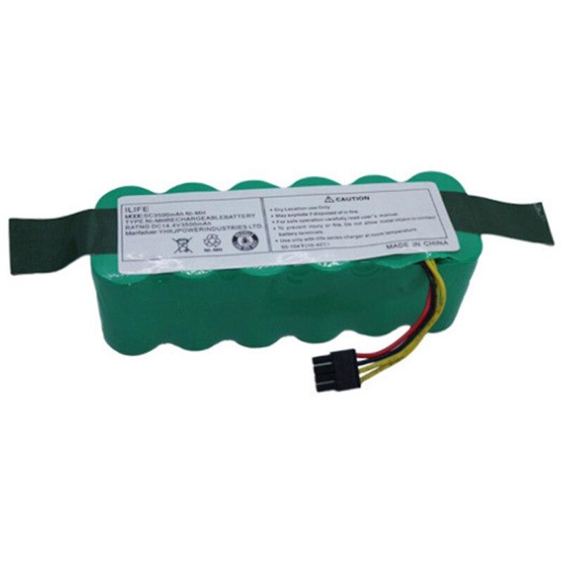 Batería Robot de 14,4 V, 3500Mah para Haier Swr-T322 T321 T320 T325 Aspiradora Robótica, paquete de batería, accesorios