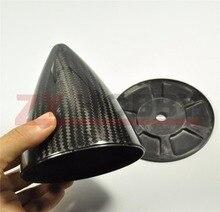 1 pièce Spinner en Fiber de carbone (sans coupures) pour avion à gaz avion RC 1.75