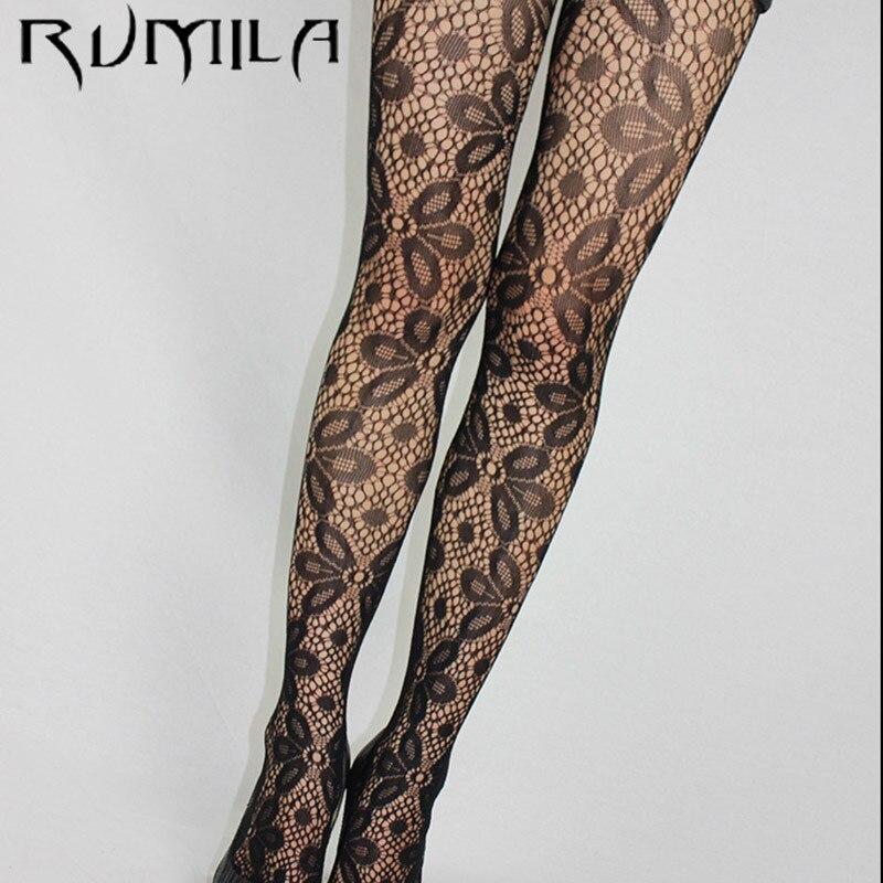 Fashion Womens Lady Girls Black Sexy Fishnet Pattern Jacquard Stockings Pantyhose Tights  skull Woman 1pcs dww42