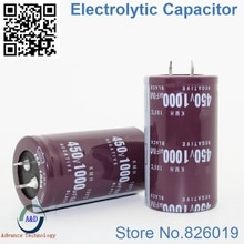 2 pcs/lot 450 V 1000 UF condensateurs électrolytiques en aluminium à immersion radiale taille 35*50 1000 UF 450 V tolérance 20% V