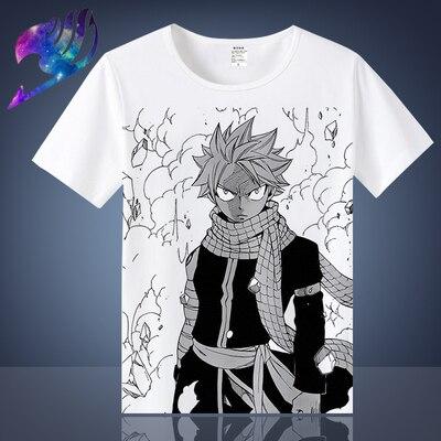 Casual hip hop das mulheres/camisa dos homens t cauda de fadas engraçado manga curta engraçado impressão camiseta verão topos tx027