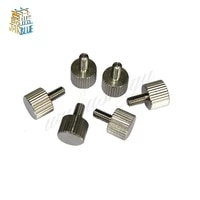 10pcs m2m2 5m3m4 a2 304 thumb screws plain type metric knurled head screws