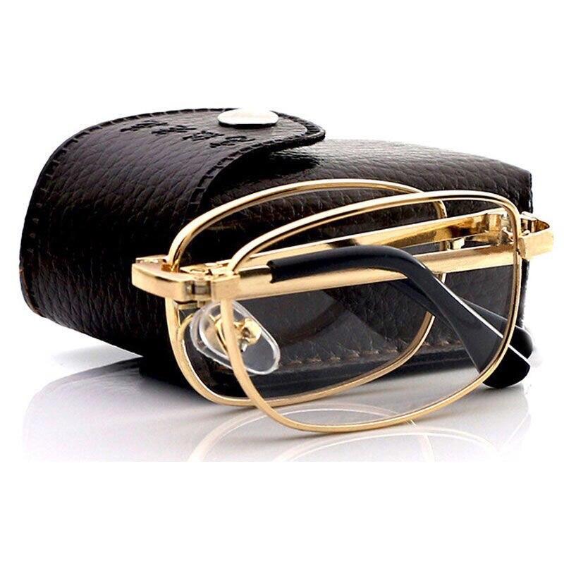 Folding reading glasses for men and women portable comfortable resin glasses for the elderly  reading glasses free of mail