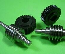 Réducteur dengrenage en métal   1M 27 dentition Ration-127 engrenage de turbine en nylon