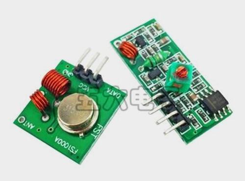 ¡Envío gratis! Módulo receptor de alta frecuencia superregenerativo de 315M/Módulo Transceptor Inalámbrico/transmisor + receptor