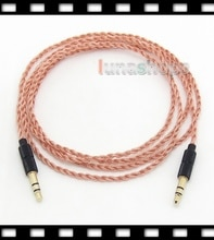 LN004756 Pure 5N PCOCC Headphone Cable For Pioneer Se-mj751 Steez 808 SE-MJ751i VESTAX HMX-07 Parrot Zik Bluetooth