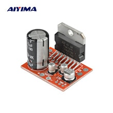 Усилитель звука AIYIMA TDA7379, Плата усилителя мощности 39 Вт X 39 Вт, стерео усилитель постоянного тока