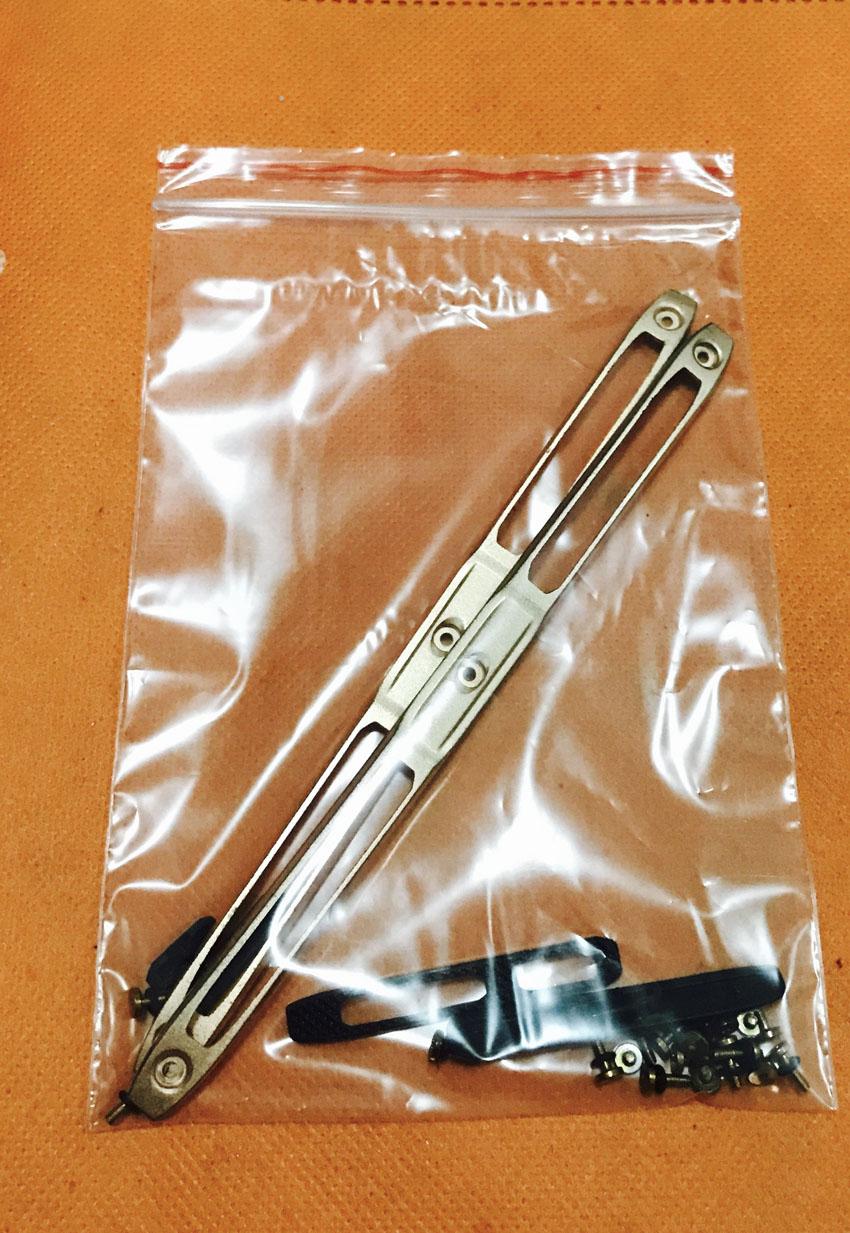 """Verwendet Original telefon Front rahmen trimmen + tasten + schrauben für Blackview BV7000 Pro MT6750T Octa Core 5 """"FHD freies verschiffen"""