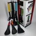 7 шт./компл. карусель, нейлоновая шпатель, ложка, кухонная утварь, кухонные принадлежности с розничной коробкой