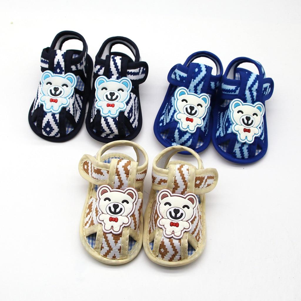 Precio bajo DE VENTA DE PÉRDIDA 2019, zapatos de suela blanda para recién nacidos y niñas con estampado de dibujos animados, zapatos para primeros pasos 11