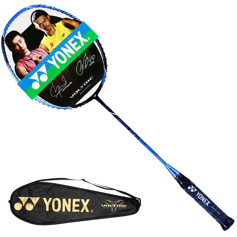 Original Yonex Vt Fb raqueta de bádminton profesional ofensiva Yy carbono raqueta hecho en Japón 6U (73G)