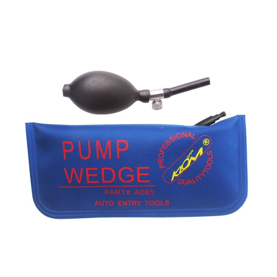 KLOM насос с клиновидной подушкой безопасности, новинка для универсальной воздушной подушкой, слесарные инструменты, набор замков, открывалка для дверных замков, инструмент для висячих замков синего цвета