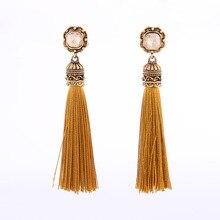 Mode gland boucles doreilles rétro bijoux tendance fête mariage accessoires bijoux décoratifs couleur gland oreille bijoux femme cadeau