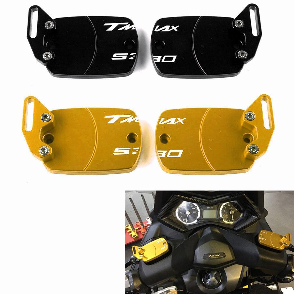 Tapa de depósito de fluido de embrague de freno de motocicleta para Yamaha TMAX 500 2008-2011 T MAX TMAX 530 2012-2017