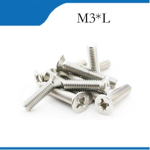 Tornillo M3 M3x4/5/6/8/10/12mm, cilindro de cobre M3, Parafuso Tornillos de alta calidad,...