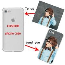 Чехол для телефона с индивидуальным дизайном для iphone 11 PRO X XR XS MAX 7 8 6 Plus, мягкий ТПУ для Samsung Galaxy S10 S9 S8 Plus S10e