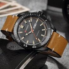 Curren montres hommes Top marque de luxe montre à Quartz hommes mode décontracté Sport horloge hommes montre-bracelet erkek kol saati livraison directe