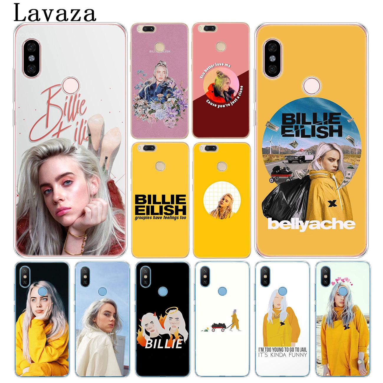 Жесткий чехол для телефона Lavaza Hot Billie Eilish Music Singer для Xiaomi Redmi K30 K20 8A 7A 5A 6A Note 8 8T 7 5 6 Pro