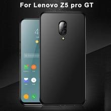 Pour Lenovo Z5 pro GT étui gt855 Ultra-mince coque en silicone souple couverture arrière pour Lenovo Z5pro GT écran avant en verre HD flim