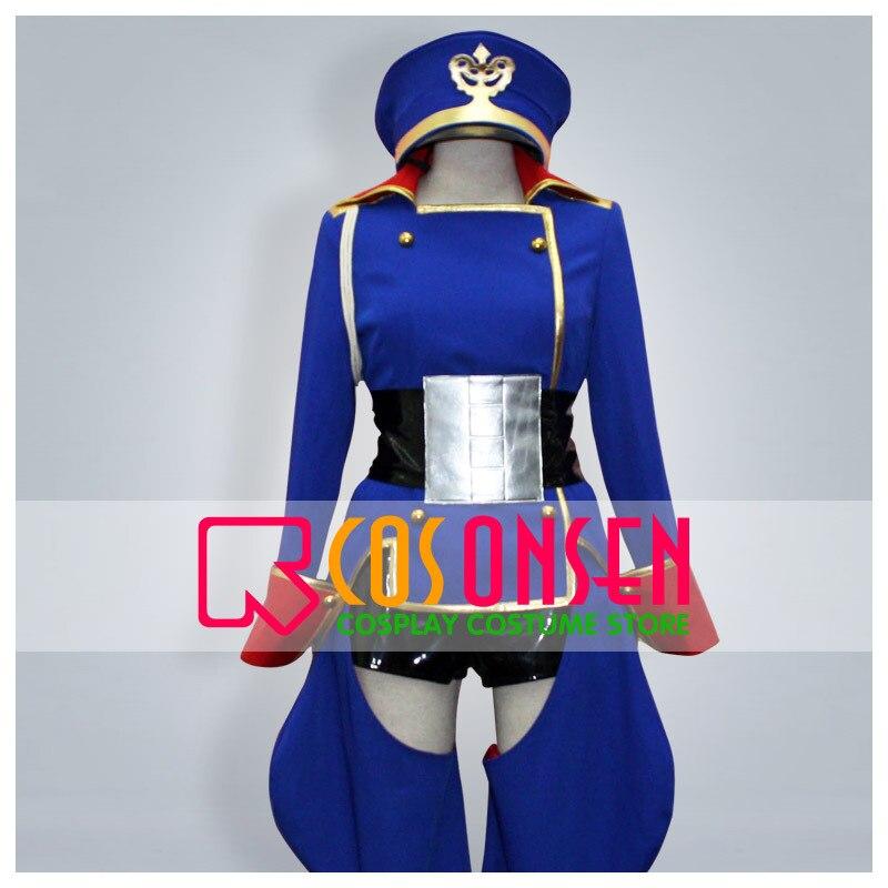 Disfraz de Cosplay COSPLAYONSEN Macross Frontier Sheryl Nome Sagitario hecho a medida