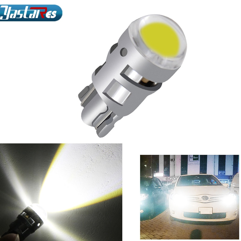 2018 1x T10 coche led 168 194 2825 W5W LED para CREE Chip Led bombillas de repuesto Placa de coche fuente de luz accesorios de coche