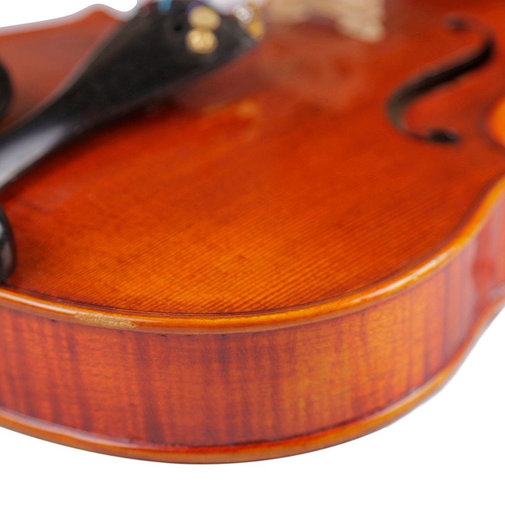 TONGLING Brand Professional Violin 20 Years Old Naturally Dried Stripes Maple Hand-craft Spirit Varnish 4/4 Violin enlarge