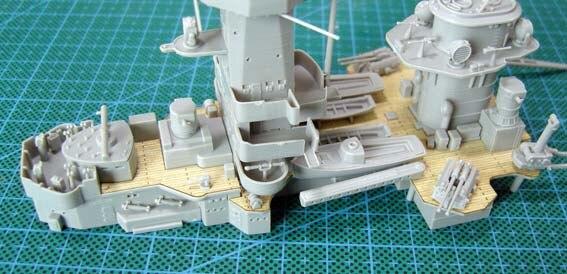 ARTWOX 05316 Trumpeter. Admiral Graff spee wooden deck AW10006