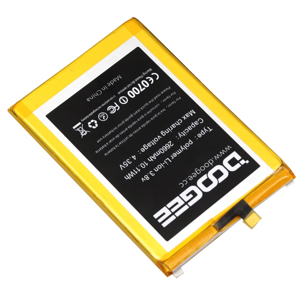 Doogee F5 Battery Replacement Original 2660mAh Smart Phone Parts backup battery for Doogee F5 in stock enlarge