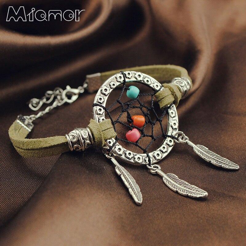Браслет MIAMOR 3 вида цветов ручной работы, коричневый, синий, черный, лучший подарок для друга и любителей, диаметр 3 см, Amor037