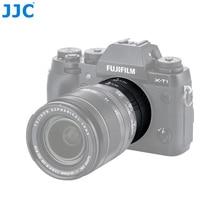 JJC anillo adaptador de enfoque automático de Metal para Fujifilm X montaje para Nikon f-mount para Canon EF/EF-S M4/3 E tubo de lente de extensión automática