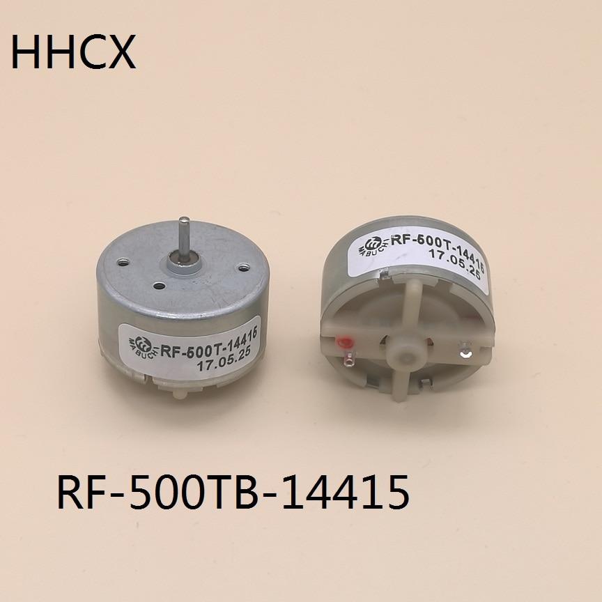 1PCS Marke neue Mabuchi RF-500TB-14415 micro DC motor wertvolle-metall pinsel 6V RF-500TB motor 500TB