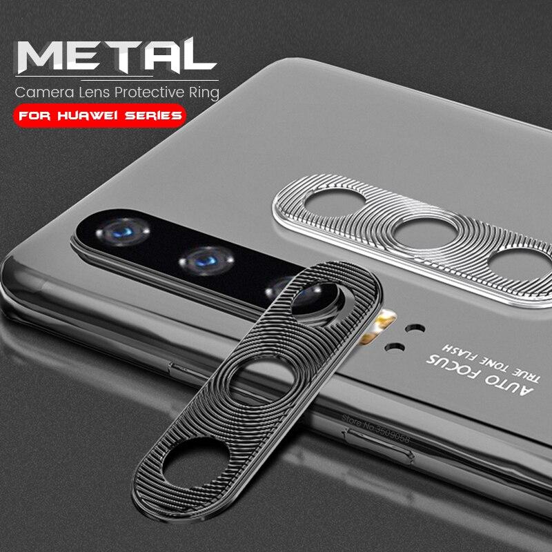 Металлический защитный чехол для объектива камеры honor 20s 20 lite, защитный чехол для huawei mate 30 p20 p30 pro p40 light