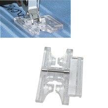 Para acessórios de costura pfaff 6mm clear snap em pintuck presser pé #93-036942-91 (820776096) 5bb5148